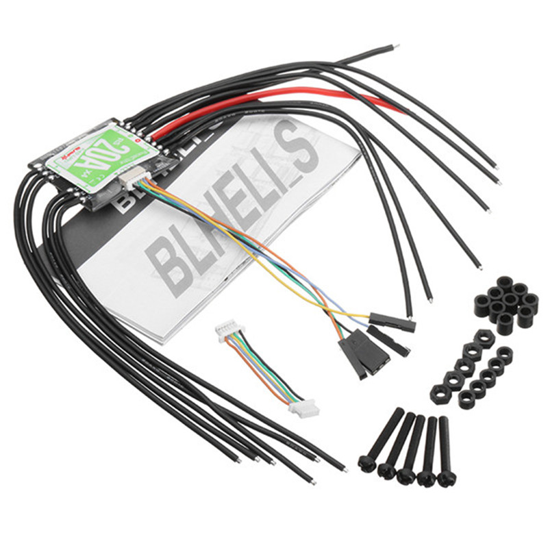Racerstar RS20A x 4 20A 4 in 1 Blheli_S Opto ESC 2 4S Support Oneshot42 Multishot for FPV Racer Quadcopter Racing Drone DIY-in Parts & Accessories from Toys & Hobbies    3
