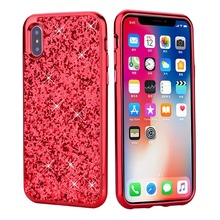BuzzLee Bling Glitter Flash Powder Kate Case For iPhone X 6S For iPhone 8 7  6 plus ea55febdd6dc