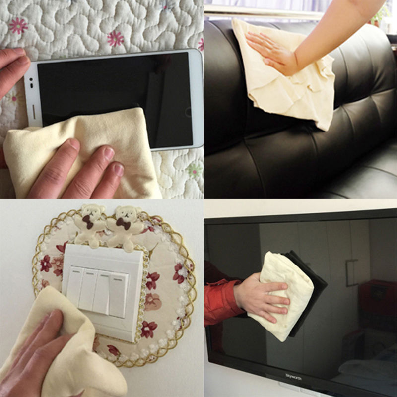 1PCS Hot Natural Chamois Leather Car Cleaning Cloth Washing Suede Absorbent  Towel  685 China. Online Get Cheap Clean Suede Furniture  Aliexpress com   Alibaba Group