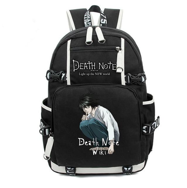 Аниме рюкзак тетрадь смерти в ассортименте 5