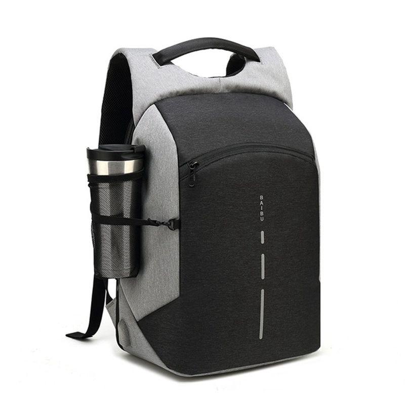 2018 Men Multifunction Backpack Anti-theft Waterproof Design Laptop Backpack Student Boy School Bags For Teenagers Travel Bag backpack men backpack women school bag for teenagers men laptop backpacks student bag women s travel bags multifunction backpack