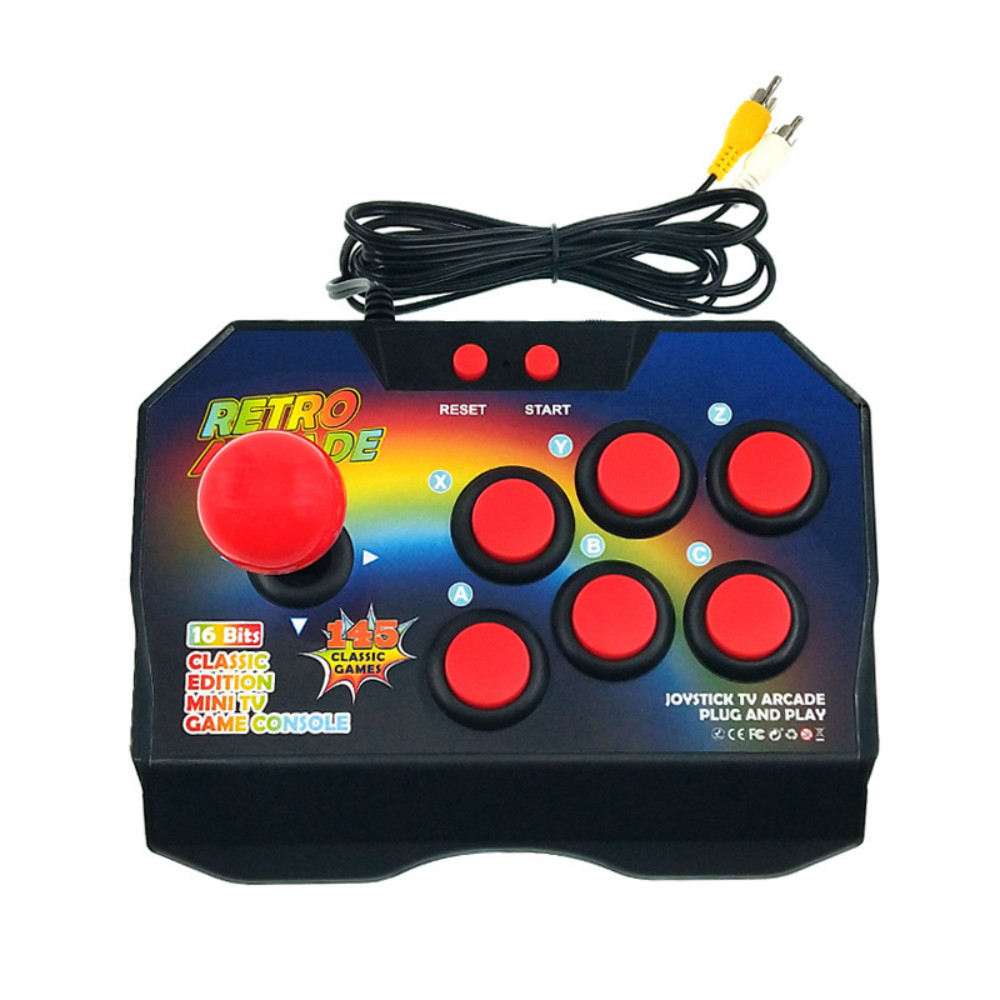 Image 2 - Arcade video game console classic retro game machine built in 16 bit 145 models of the joystick arcade-in Video Game Consoles from Consumer Electronics