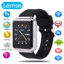 2016 New Q1 3G smart watch phone MTK6580 Android 5 1 OS With Bluetooth WiFi GPS