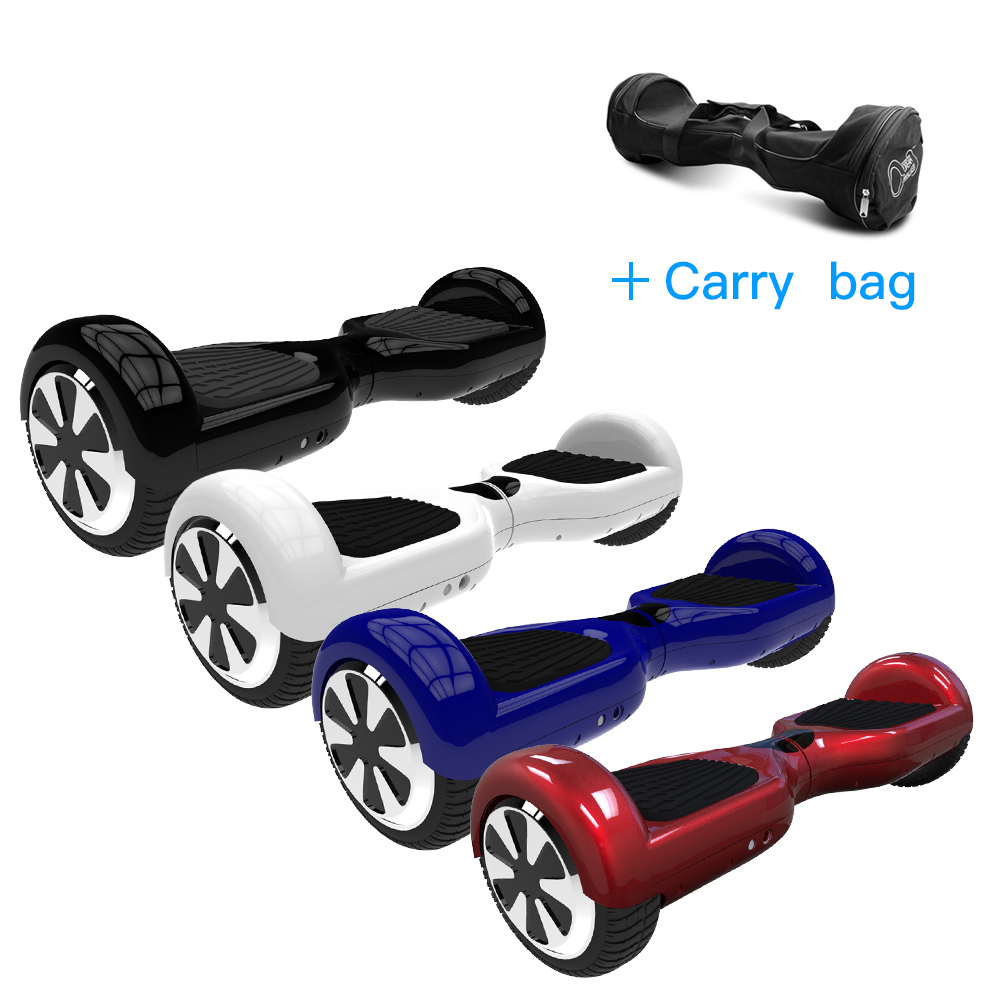 4 Colors 6.5 Inch Hoverboard Two Wheels Self Balance Scooter Hover Board With Carry Bag UL Certificated Free Shipping DE Stock