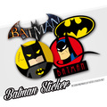 2016 New Batman Robin I'm Back Logo Ho Car Auto Motorcycle Decal Sticker Cover Ipad Notebook Laptop Handy Car-Styling
