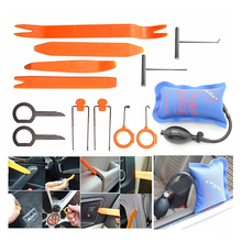 Car PDR Tools KLOM Pump Wedge Air Wedge with Car Radio Door Clip Panel Trim Dash Audio Removal Open Installer Pry Tool
