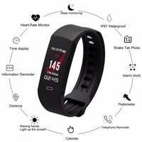 Bluetooth 4.0 Sports Smart Watch Men Wristwatch Health Monitor Heart Rate Monitor Swimming Fitness Wristband For IOS Android