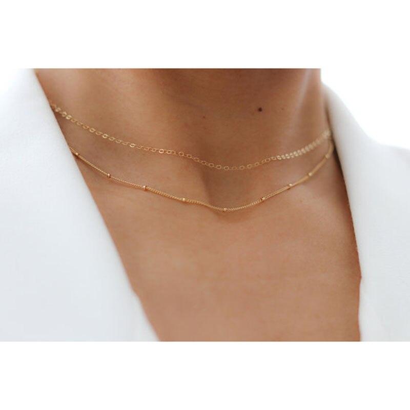 Collier en couches fait main or Chocker pendentif personnalisé personnalisé Collier Femme Kolye Collares femmes bijoux Riverdale
