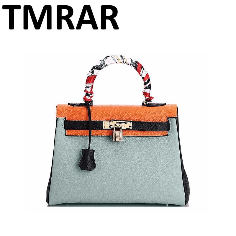 2017 New split leather Hulmer big tote it handbags fashion lady seek shoulder bags three sizes new arrival hot need M2067 seek thermal