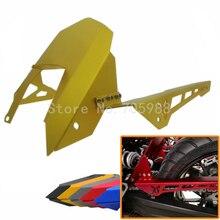 Высокое Качество Мотоцикл Части Для Yamaha MT07 MT-07 FZ07 FZ-07 CNC Алюминий Заднее Крыло и Крышка Цепи 5 Цветов для дополнительно