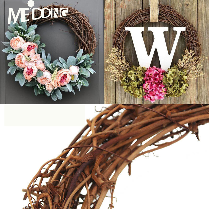 30 Best Diy Wedding Decorations: 10 30cm Summer Party Natural Dry Branches Rattan Wreath