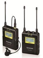 Saramonic UwMic9 (RX9 + TX9) вещания УВЧ Беспроводной петличный микрофон Системы для dslr Камера видеокамеры