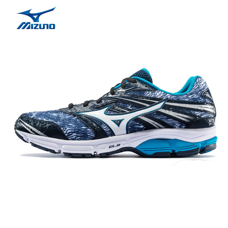 MIZUNO Men WAVE ZEST Shock Absorber Running Shoes Sneakers Breathable Sport Shoes J1GR186981 XYP728 mizuno wave paradox 2 mizuno mznj1gc1540