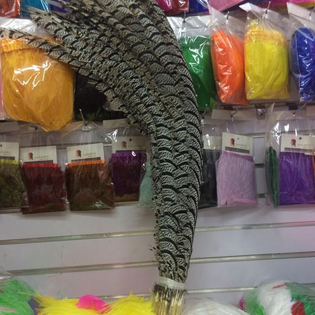 En gros 90 pièces 36 40 ''(90 100 cm) naturel dame Amherst faisan queue plumes Super Long Phesant zèbre plume pour carnaval-in Plume from Maison & Animalerie    1