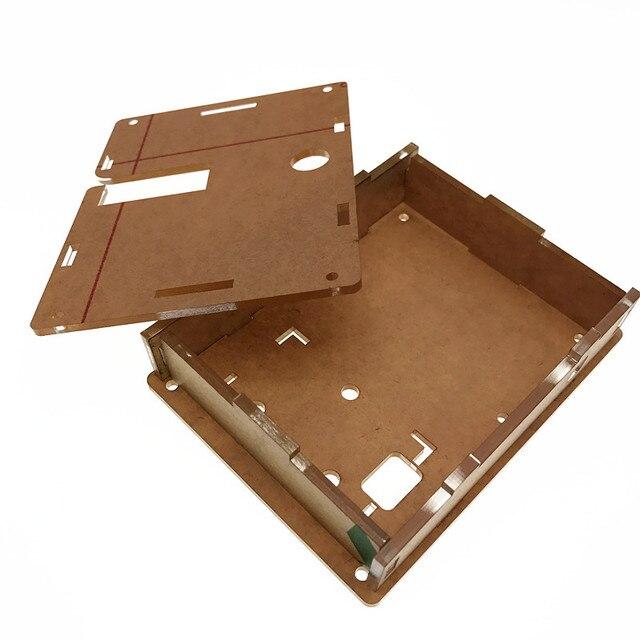 Цифровой lcr СОЭ метр Mega328 Транзистор тестер СОЭ метр случае Mega328 Транзистор тестер DIY box