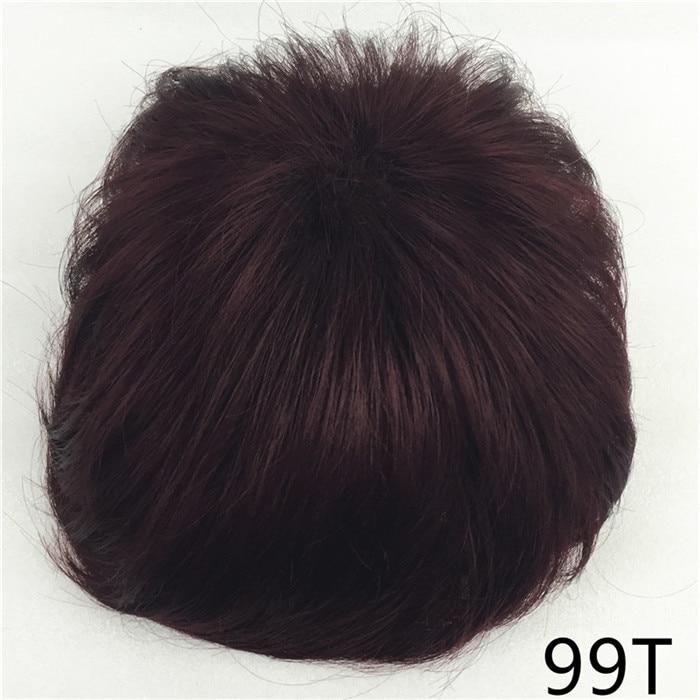 Сильная красота парик синтетические волосы парик выпадение волос топ кусок парики 36 цветов на выбор - Цвет: #99