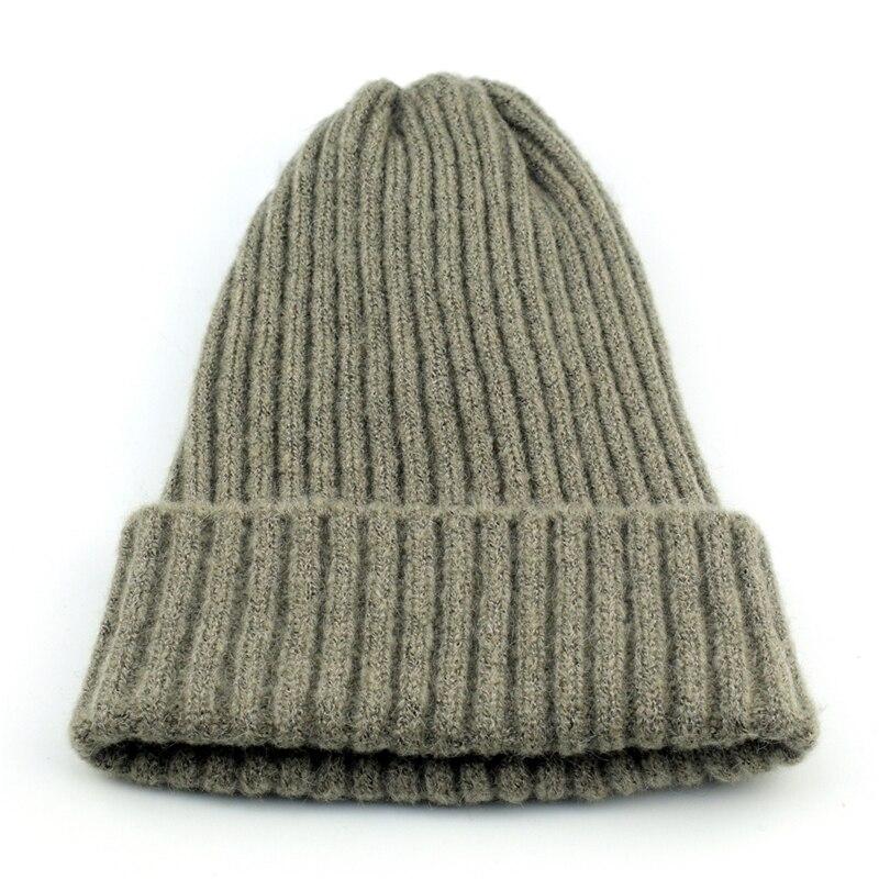 Mooie Goedkope Vrouwen Mannen Haak Wol Echt Knit Beanie Ski Cap