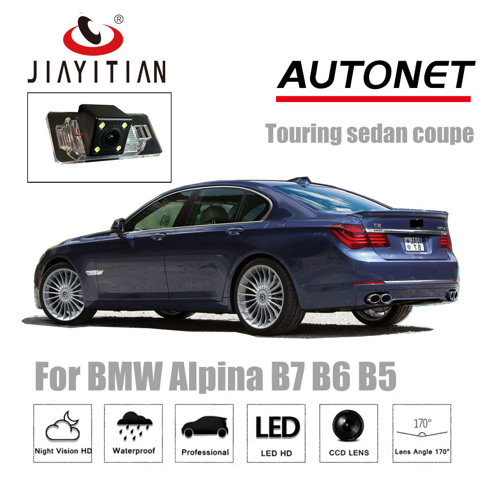 JIAYITIAN Rear Camera For BMW Alpina B7 B6 B5 Touring sedan coupe/Night Vision/Reverse Camera/Backup Camera license plate camera