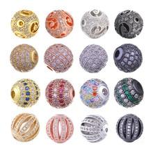 Juya – perles en métal pour fabrication de bijoux, 10mm, accessoires pour Bracelets, boucles d'oreilles, pour hommes et femmes