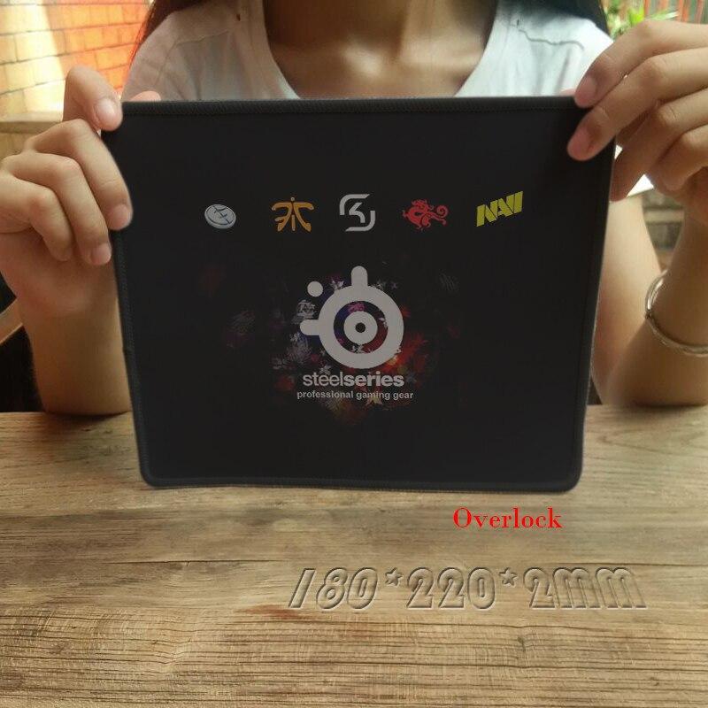 Sıcak Satış Steelseries QcK + Fnatic + NaviGaming Overlok Mousepad Büyük Oyun Oyuncu Için Dizüstü Bilgisayar Dizüstü Fareler Mat