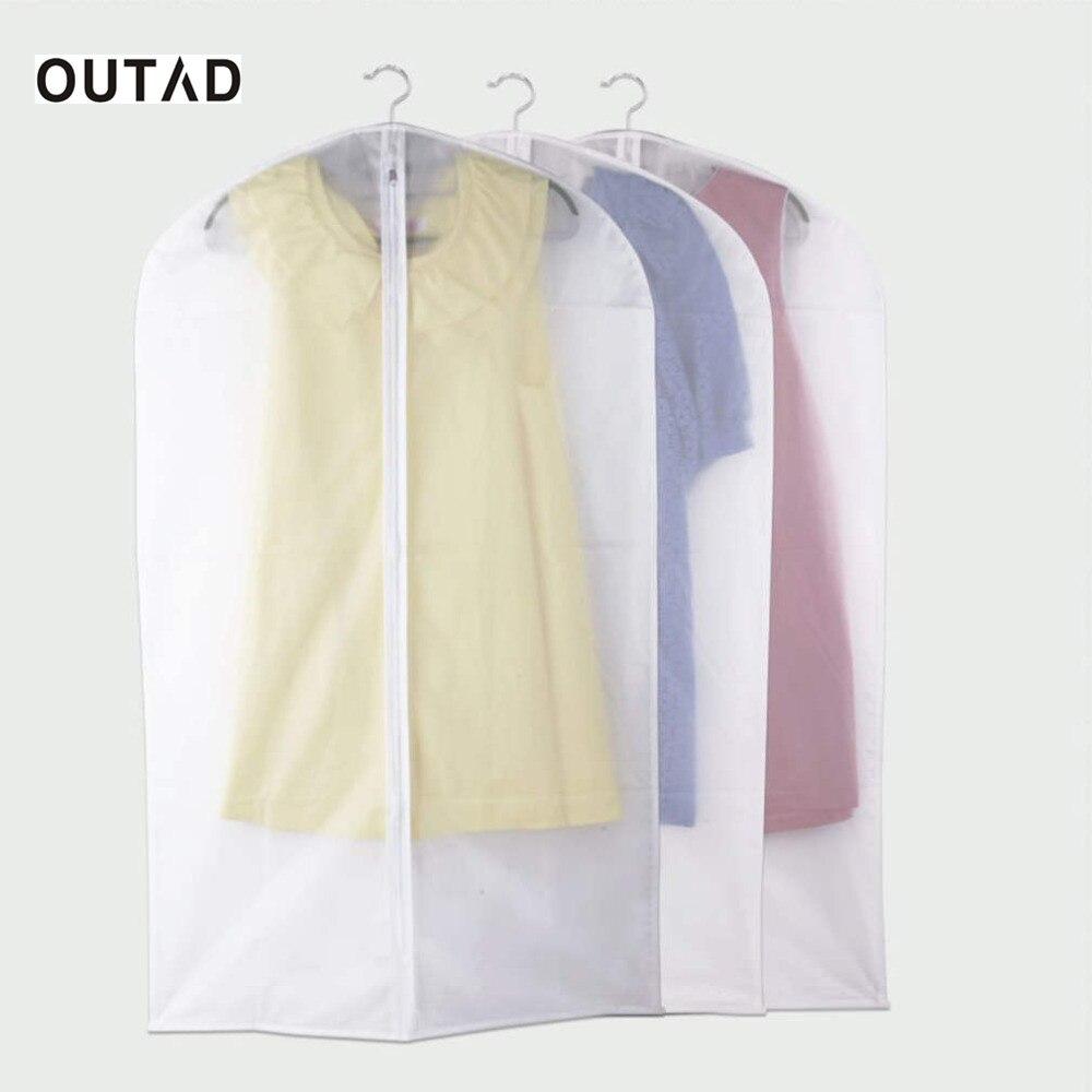 OUTAD Abbigliamento Vestito Indumento Coprire la borsa Coprire gli abiti antipolvere Coprire i vestiti Coprire la borsa da viaggio All'ingrosso