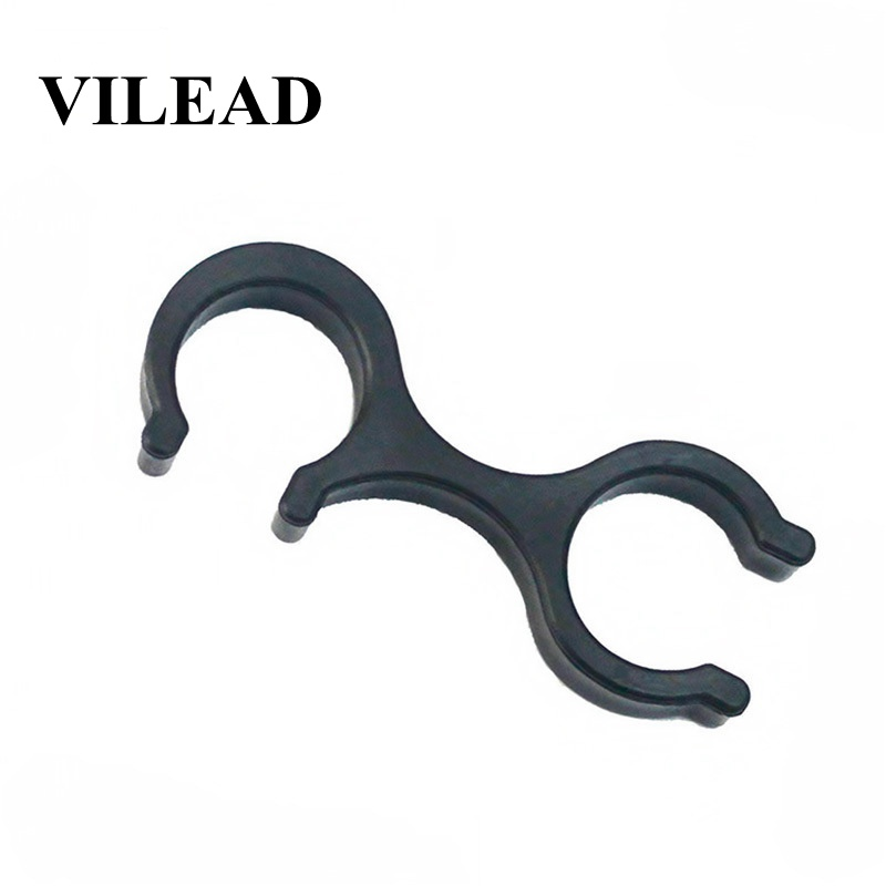 Vilead 6 Pcs Connecting Buckle For Trekking Pole Climbing Accessories Outdoor Walking Camping Hiking Tools Clip Carabiner Climb