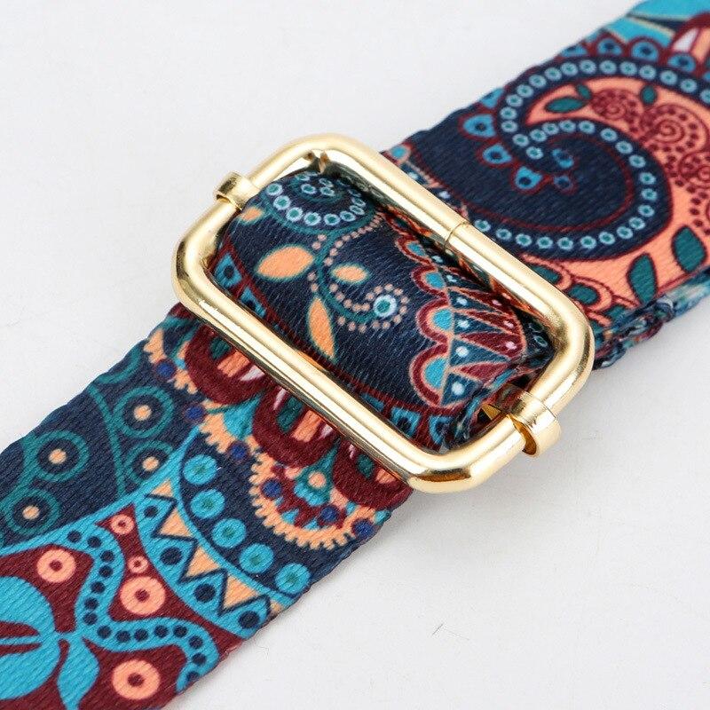 New Width 3 8cm Colorful Shoulder Belts Replacement Handbag Straps gold silver gun black buckle bag DIY Bag Accessories AP2386 in Buckles Hooks from Home Garden