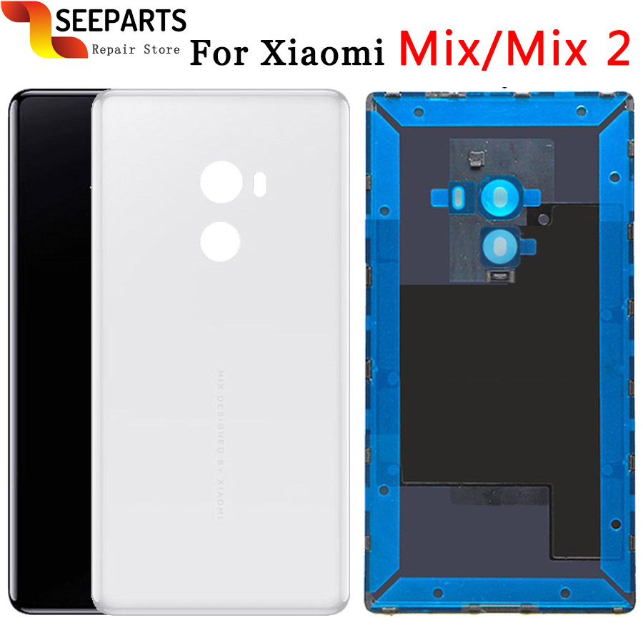 For XiaoMi Mi Mix Back Cover Case Battery Back Cover housing Mi Mix 2 Replacement Parts For XiaoMi Mi MIX 3 Battery CoverFor XiaoMi Mi Mix Back Cover Case Battery Back Cover housing Mi Mix 2 Replacement Parts For XiaoMi Mi MIX 3 Battery Cover