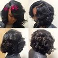 Brazilian Virgin Hair 3 pcs Bouncy Curly Hair 100% Human Hair Aunty Funmi Bouncy Curls Brazilian Hair Weave Bundles Bouncy Curls