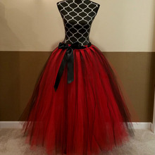 Any Color Adult Tutu Fashion Red Black Long Tutu Wedding Tulle Skirt Custom Made Bridal Tutu Skirt Multi layer Tulle Saia Faldas