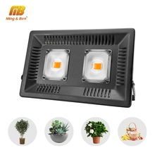 Led Phyto Lamp Full Spectrum 380-780nm 50W 100W 150W 110V 220V Outdoor Growth FloodLight IP65 For Plant Greenhouse With EU Plug
