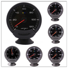 63mm GReddi Sirius Meter Turbo Boost Gauge 7 Colors Racing Car Gauge New Electronic Boost Sensor 2.5 Bar 3 Inch