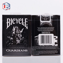 Theory11 Bicycle Guardians Playing Cards Poker Black Magic Cardistry Deck Guardian for Magician Collection Card Game Free ship