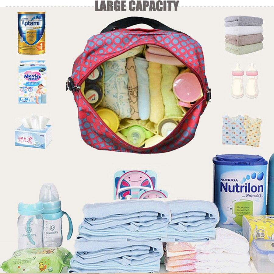 PYETA pelenka táska bébiruhákhoz Baba táska anya utazáshoz - Pelenkák és WC képzés - Fénykép 4