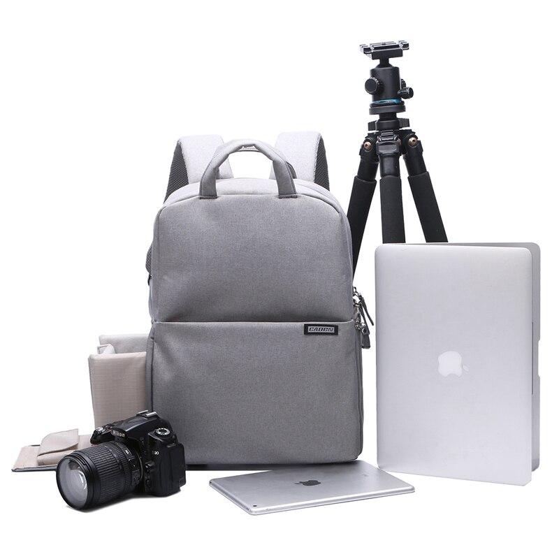 Caden Digital Camera Video Photo Bag Case Backpack Waterproof for Canon Nikon Sony Pentax DSLR Lens Tripod Laptop PC Smartphones 2pcs oem new alzenit for ricoh mp 4000 4001 4002 5001 5002 4000 5000 upper fuser roller printer parts