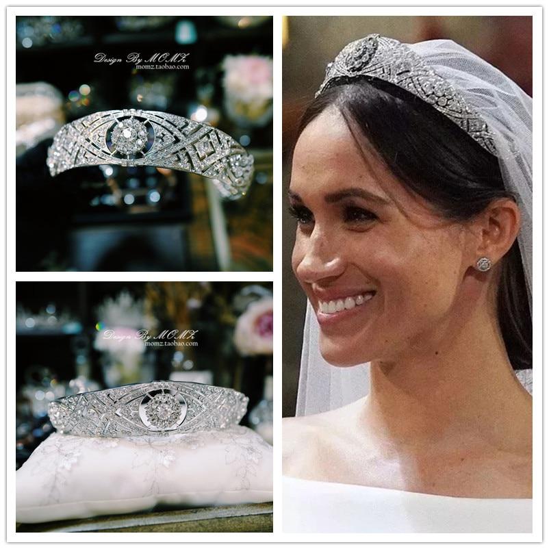 lindo markle meghan da tiara da coroa de noiva acessorios do cabelo do casamento cabelo das mulheres hair jewelry aliexpress lindo markle meghan da tiara da coroa de noiva acessorios do cabelo do casamento cabelo das mulheres