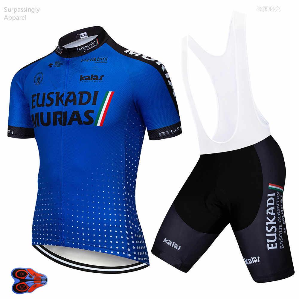 5c6e502da 2019 Pro UCI World Team Pro Cycling Jersey Clothing 9D Pad Bike Shorts Set  MTB Ropa