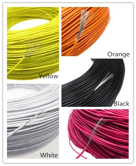 UL1007 22AWG 26*0.25 2.5mm electrical cable wires PVC Insulated tinned copper electronic wire диск алмазный champion 350х25 4мм concrete crunch c1603