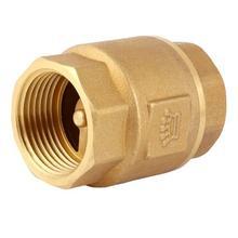 H12X-16T латунный обратный клапан с вертикальной резьбой DN15 20 25