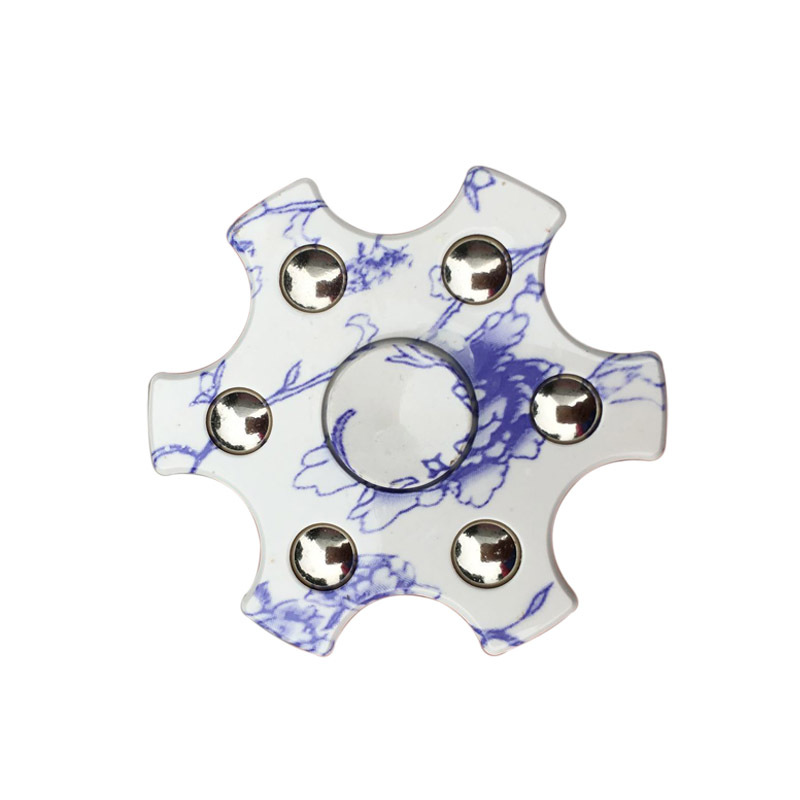 Newest Styles Kid Gifts Fidget Spinner High Quality EDC Hand Spinner For Autism and  Rotation Time Long Anti Stress Toys