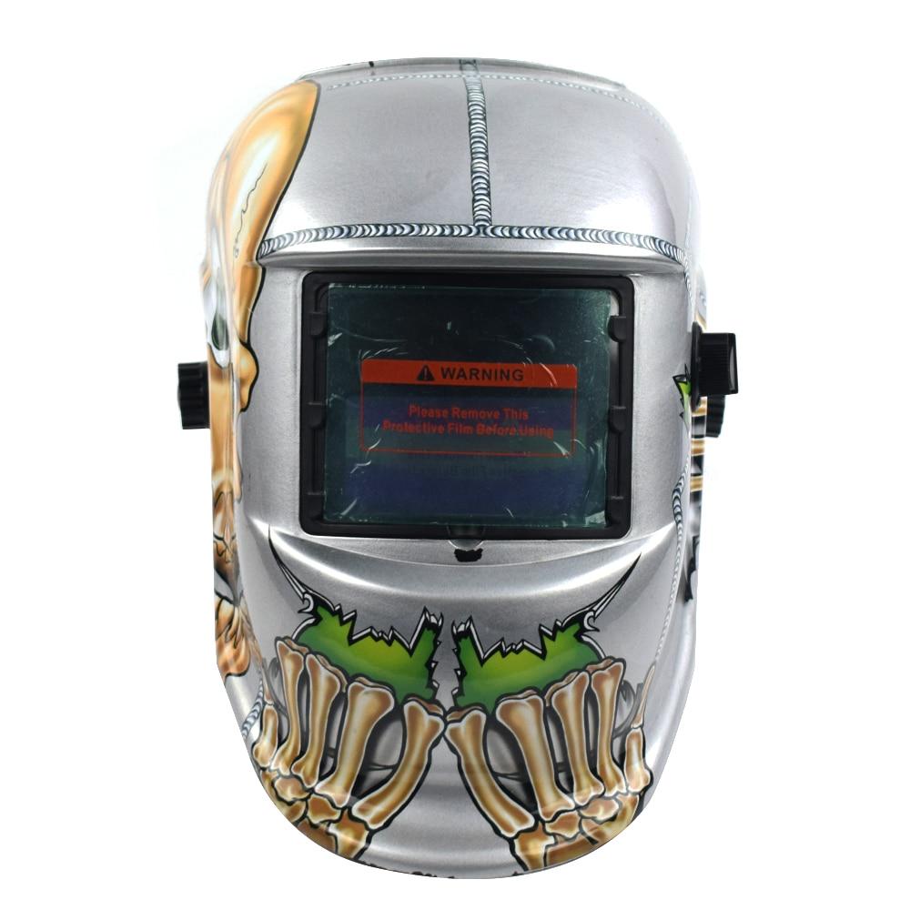 Capacete da soldadura Automática Mudar Banda de Cabeça Máscara de Solda Máscara de Solda Soldador TIG Máscara Osso - 3
