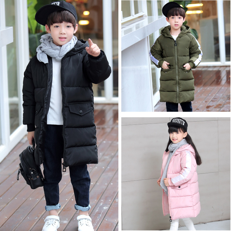 New models jacket for boy girls clothes Cotton Padded Hooded Kids Coat Children clothing girl Parkas enfant Jackets Coats winter warm children clothing coats outerwear brand boy girl down parkas infantil kids clothes suit jacket enfant cute cotton