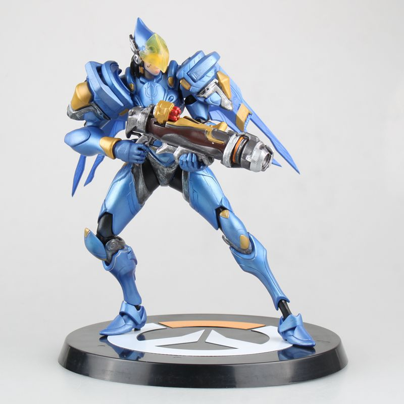 25cm OW Anime Game Over Watch Heros Pharah PVC Action Figures Fans Collection Gifts no retail box (Chinese Version) фигурки overwatch