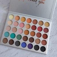 Kilied Kit Morphexjaclynhills 35 Color Eye Shadow Pigment Matte Palette Makeup EyeShadow Palette Make Up Cosmetic