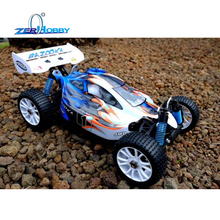 RC CAR HSP BAZOOKA 1/8 NITRO POWERED BUGGY 4X4 OFF ROAD 21CXP ENGINE (item no. 94885)