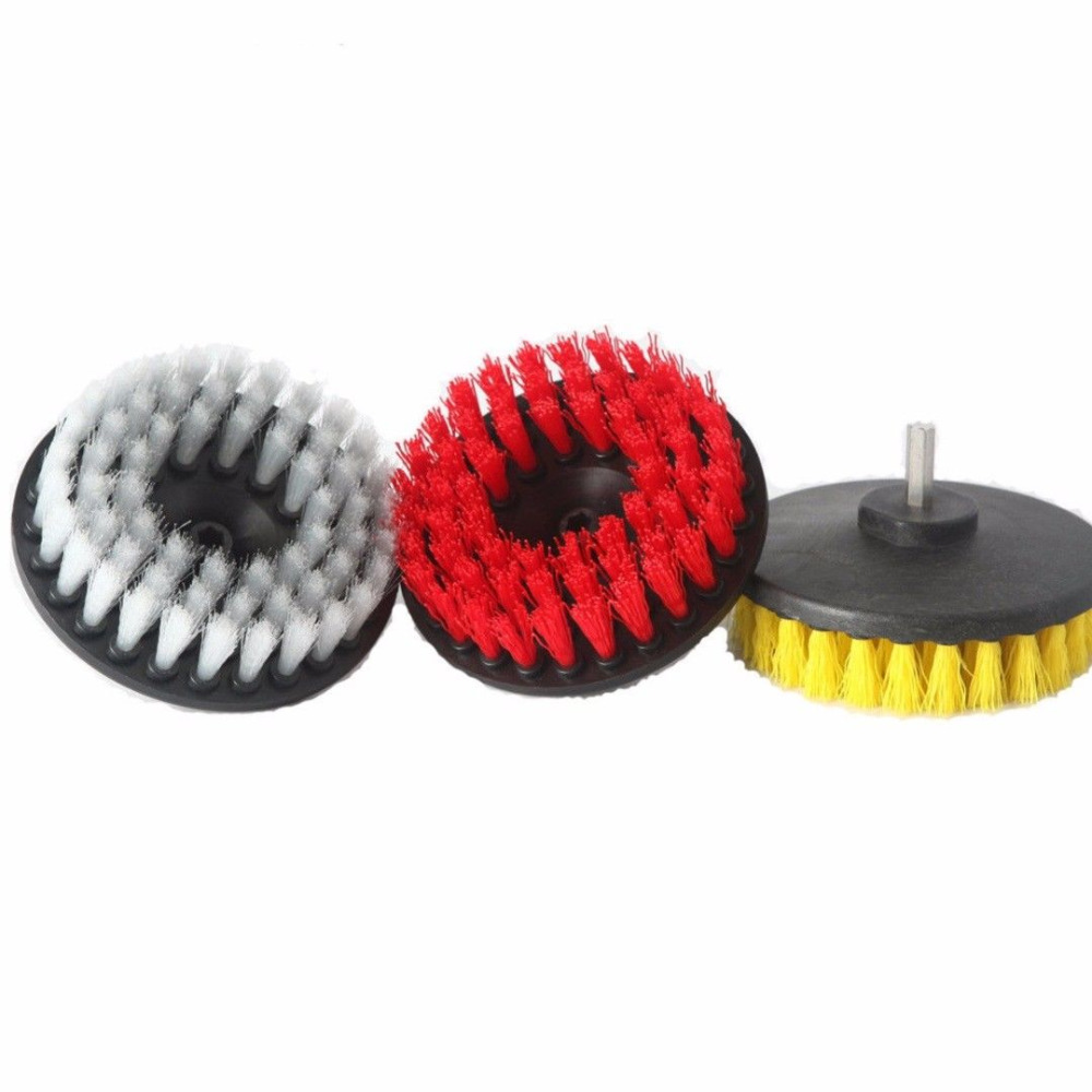 """5 """"elektrische Boor Borstel Plastic Ronde Schijf Reinigingsborstel Voor Tapijt Glazen Vloer Te Koop"""