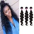 Brazilian Hair Weave Bundles Loose Wave Brazilian Virgin Hair Weaving Unprocessed  Human Hair Extensions 7A Loose Curly Hair