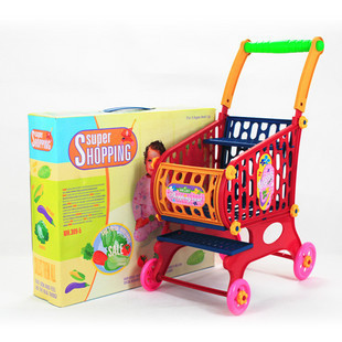 Kids play house toy small shopping carts child educational toys