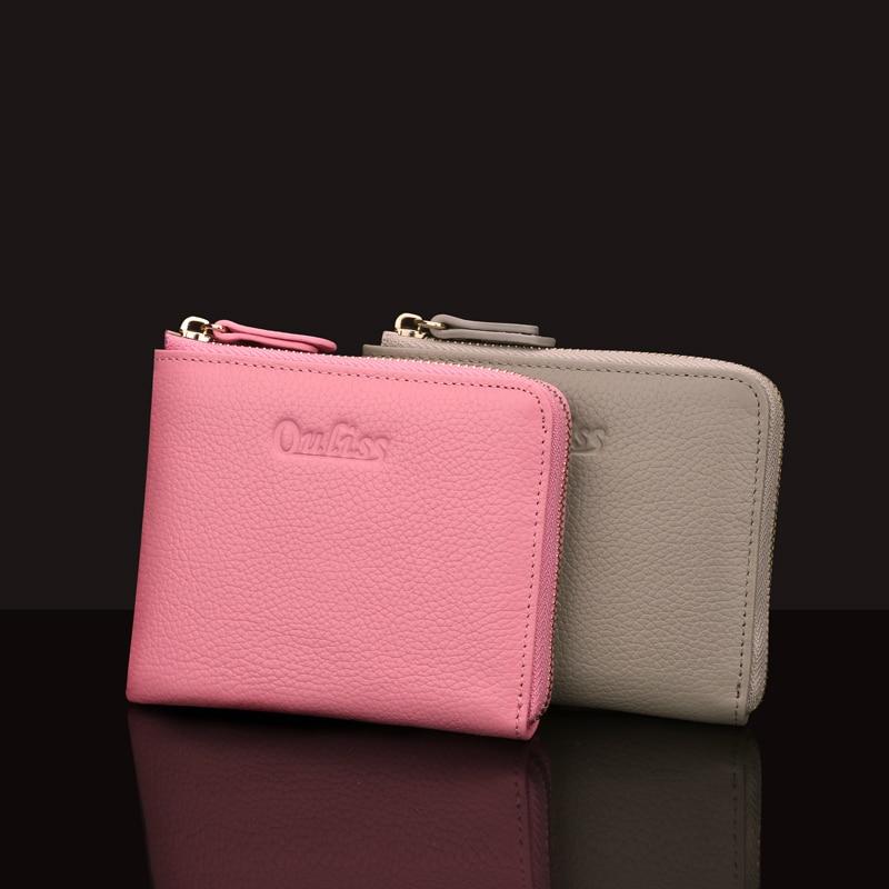 Women Wallets 2017 Mini Thin Small Zipper Leather Coin New Female Zero Wallet Short Leather Wallets