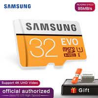Samsung EVO 32GB 64G 128G SDHC GPS Karte Carte Memoire C10 32GB SDXC EVO Cartao SD smartphone Speicher Flash Card Rabatt